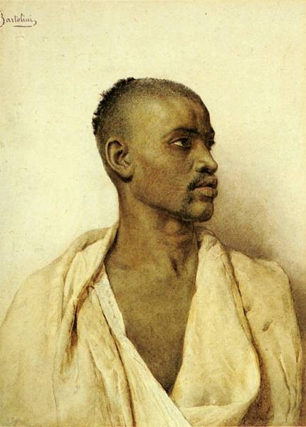 Portrait Of An Arab Man